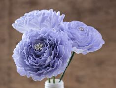Reduce. Reuse. Recycle. Replenish. Restore.: DIY: How To Make a Paper Peony Flower