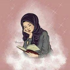 slamic anime ve tesett r Hijab Drawing, Islamic Cartoon, Hijab Cartoon, Islamic Girl, Girly, Muslim Girls, Muslim Couples, Galaxy Wallpaper, Wallpaper Samsung