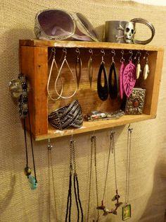 Upcycled Jewelry Organizing Display Drawer by KelkoDesign on Etsy, $50.00