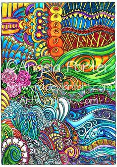 Brightly colourful by Artwyrd on DeviantArt