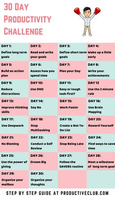 30 Day Productivity Challenge – Time Management Tips, Productivity Ideas Are you up for a 30 day transformation of yourself using smart time management tips and cool productivity ideas. Using these tips not only. Time Management Strategies, Time Management Skills, Productive Things To Do, Productive Day, Robert Kiyosaki, 30 Day Challange, How To Be Smart, Productivity Challenge, How To Be More Organized