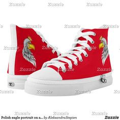 Custom Sneakers, Top Shoes, Converse Chuck Taylor, High Tops, Red And White, High Top Sneakers, Pairs, Unisex, Women