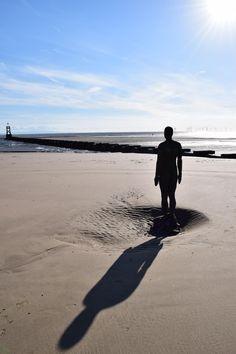 Crosby Beach is part of the Merseyside coastline north of Liverpool in the Metropolitan Borough of Sefton, England. Crosby Beach, Earn Money, Liverpool, England, Water, Outdoor, Gripe Water, Outdoors, Earning Money