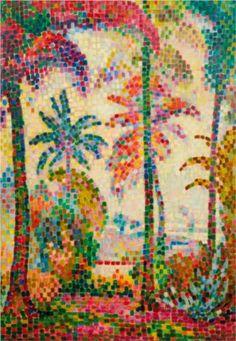 Paysage Tropical - Jean Metzinger