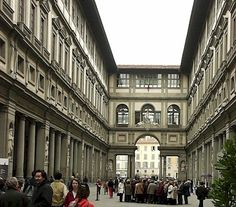 Vasari-uffizi -  I was there the summer after the bombing. Some areas were closed. I went even though it wasn't thought to be safe. Was that really 20 years ago?