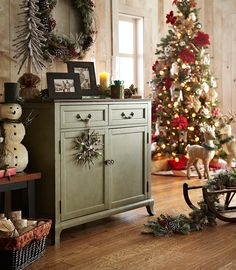 Complete your holiday home with our beautiful Marchella Buffet in Sage.