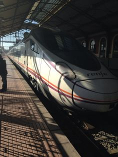 The Spanish high speed train. I call it the bullet.