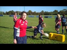 How to play rugby: Defending at the ruck - YouTube