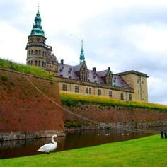 Denmark: Kronborg Castle:  Located on a strategically important site commanding the Sund, the stretch of water between Denmark and Sweden, the Royal castle of Kronborg at Helsingør (Elsinore) is of immense symbolic value to the Danish people and played a key role in the history of northern Europe in the 16th-18th centuries.