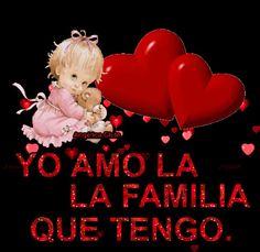 SUEÑOS DE AMOR Y MAGIA: Yo amo la familia que tengo.