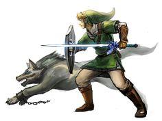 The Legend of Zelda: Twilight Princess / Link and Wolf Link / 「ゼルダの伝説まとめ」/「梟」の漫画 [pixiv] [05]