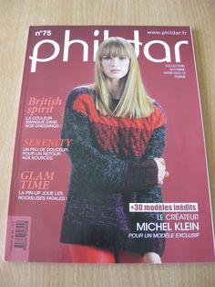 Catalogue PHILDAR FEMME n°75 Automne / hiver 2012/2013 - du 34/36 au 50/52 : Matériel Tricot par krupsy