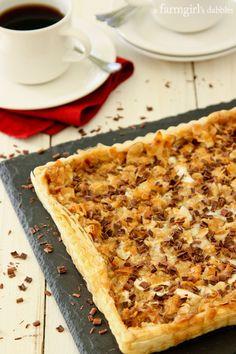 Caramel Tart with Almonds