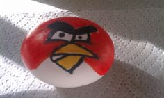Easter egg decoration, Angry Bird