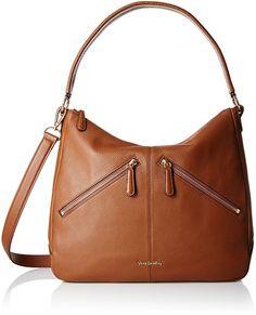 Vera Bradley Vivian Hobo Bag, Cognac