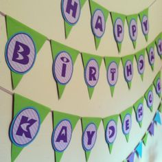 A {Girly} Monsters Inc Party + Free party Printables » Posh Tart Parties
