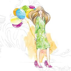 Fashion + Food - Soleil Ignacio Illustrations