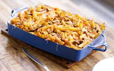Mario Batali's Baked Pasta with Mushrooms and Mozzarella