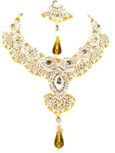 Checkout our #arrascreations product Bollywood Style Indian Imitation Necklace Set / AZBWBR032-GLD. Buy now at http://www.arrascreations.com/bollywood-style-indian-imitation-necklace-set-azbwbr032-gld.html