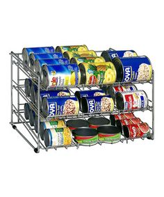 Love this Can Rack by Organize It All on #zulily! #zulilyfinds