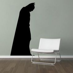 Batman Wall Decal  Vinyl Wall Art by madmonkeydecals on Etsy