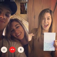 "Sadie Robertson on Instagram: ""YES YES YES YES YES YES YESSSSSS!! best face time ever! I'm so thankful I get to stand by the absolutely Beautiful bride on her big day  SO EXCITED!!!! 10.17.15"""