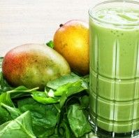 Recept Mango Spinazie Kwark Smoothie
