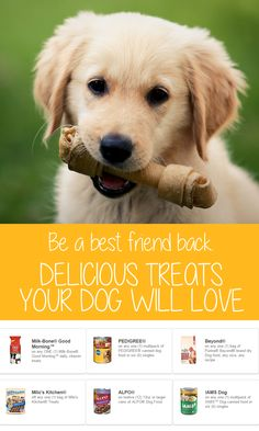It's easy to save on essentials for your furry best friend with coupons for dog food, treats, and more! Discover more ways to save at Coupons.com.