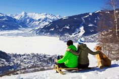 """SKIING AT ZELL AM SEE KAPRUN"" *** Our tour around some wonderful ski resorts is at the end, and so, we have decided to return to Europe, more precisely in Austria, where in the federal state of Salzburg there is Zell Am See-Kaprun, one of the most important Austrian tourist areas."