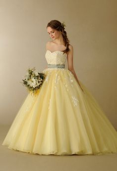 Princess Quinceanera Dresses Ball Gown for Girls Sweet 16 Dresses, Pretty Dresses, Beautiful Dresses, Xv Dresses, Quince Dresses, Custom Wedding Dress, Luxury Wedding Dress, Yellow Dress Summer, Yellow Maxi