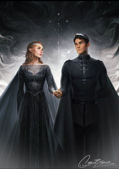 Our wedding portrait Lord and Lady Slytherin (minus pointy ears and using our…