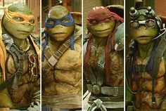Character traits that people have Leo O.C.D Raph needs anger management Mikey ADHD Donnie hyper active