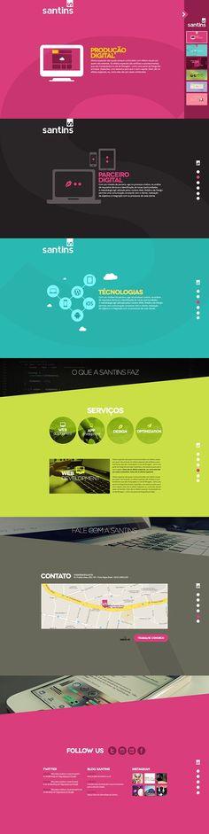 Best Web Design on the Internet, Santins #webdesign #websitedesign #website #design http://www.pinterest.com/aldenchong/: