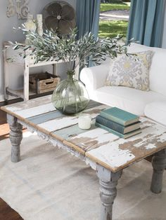 *Love the coffee table!*. A New Home and a Fresh Beginning for a Texas Mom : On TV : Home & Garden Television