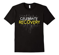 Men's Rehab Recovery Celebrate Recovery T Shirt 2XL Black... http://www.amazon.com/dp/B01EOXW7L8/ref=cm_sw_r_pi_dp_Tnkixb0FE452S Recovery is no longer a boring, drag, end of existence. With a Celebrate Recovery Shirt you can be stylish and make a statement about who you are, and where you come from.