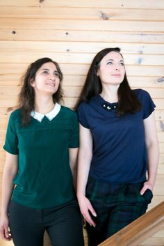 Wondering how to match London Green and Navy Blue? Go check out our new post on the blog! @cecileandlaura Marine Blue, Navy Blue, Winter Dresses, Winter Outfits, Winter Looks, London, Check, Green, Blog