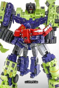 Toyworld have announced on their online store that they are doing a second version of their unofficial Devastator, Constructor. Transformers Devastator, Transformers Optimus Prime, Transformers Masterpiece, Childhood Toys, Book Stuff, World, Comic Book, Action Figures, Cartoons