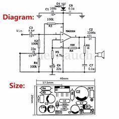75W Amplificador Classe AB Circuit com TIP3055 Bem-vindo