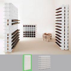 http://ift.tt/1ThhHFb Weinregal / Flaschenregal System PRIMAVINO für 78 Fl. Holz Kiefer Weiß stapelbar / erweiterbar H 150 x B 75 x T 22 cm @best Price Incococ#