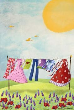 Zonnige wasdag! ~**