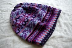 Ravelry: Project Gallery for Tuque (Fair Isle Hat) pattern by Sheila Joynes
