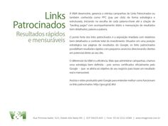 Links Patrocinados. Somos uma agência com certificado oficial do Google.