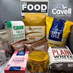 For every food box purchased, The Food Box will make a vital donation to Cavell Nurses' Trust and you'll receive some sought after goodies to bake or share with friends and colleagues. Food Box, Snack Recipes, Snacks, Recipe Box, Nurses, Biscuits, Goodies, Chips, Pizza