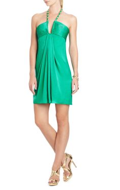BCBG dress. Just the type she'd wear for an a vacation date with her husband, or maybe out for a night with the girls.