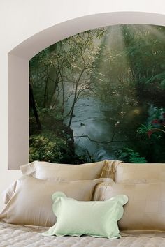 Creek Wall Mural by Brewster Home Fashions on @HauteLook