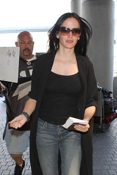 Eva Green spotted walking through the terminal at LAX airport in Los Angeles on Aug. 20, 2014