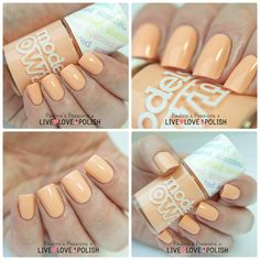 Models Own Fruit Pastel Collection - Peach Melba