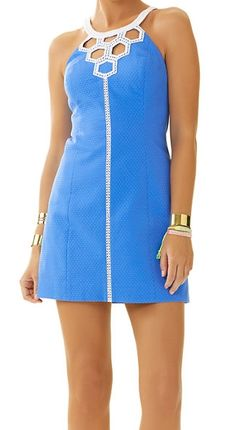 Lilly Pulitzer Molly Dress in Bay Blue