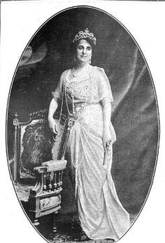 Isabel Falguera, abuela del actual Duque del Infantado. Murió en torno a finales de los 60 en el Castillo de Viñuelas, ya muy mayor.