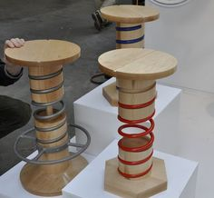 Stools are the Compact, Perfect Furniture at London Design Festival : TreeHugger